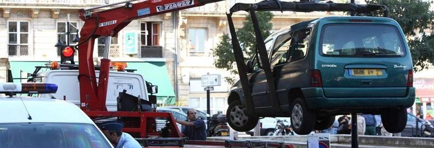 voiture est à la fourrière de Montpellier